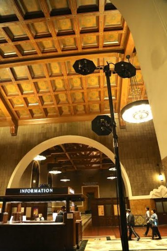 Четыре антенных зоны для улучшения беспроводной передачи по всему вокзалу Union Station