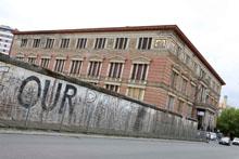 Мартин-Гропиус-Бау и Берлинская стена
