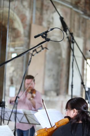MKH 30 был задействован для записи виолончели и контрабаса