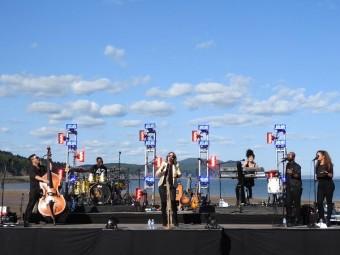 Канадское природное чудо и беспроводное аудио Sennheiser в проекте Quietest. Concert. Ever. от Parks Canada и CBCMusic