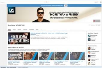 Срочно! Sennheiser и Робин Шульц: ваш YouTube канал – требуется поддержка!