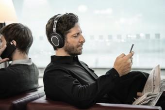 Новые наушники для путешествий Sennheiser PXC 550 Wireless