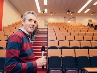 Стивен Дишон, менеджер отдела развития Университета Эдинбурга